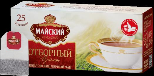 Чай Майский отборный 25пак*2г