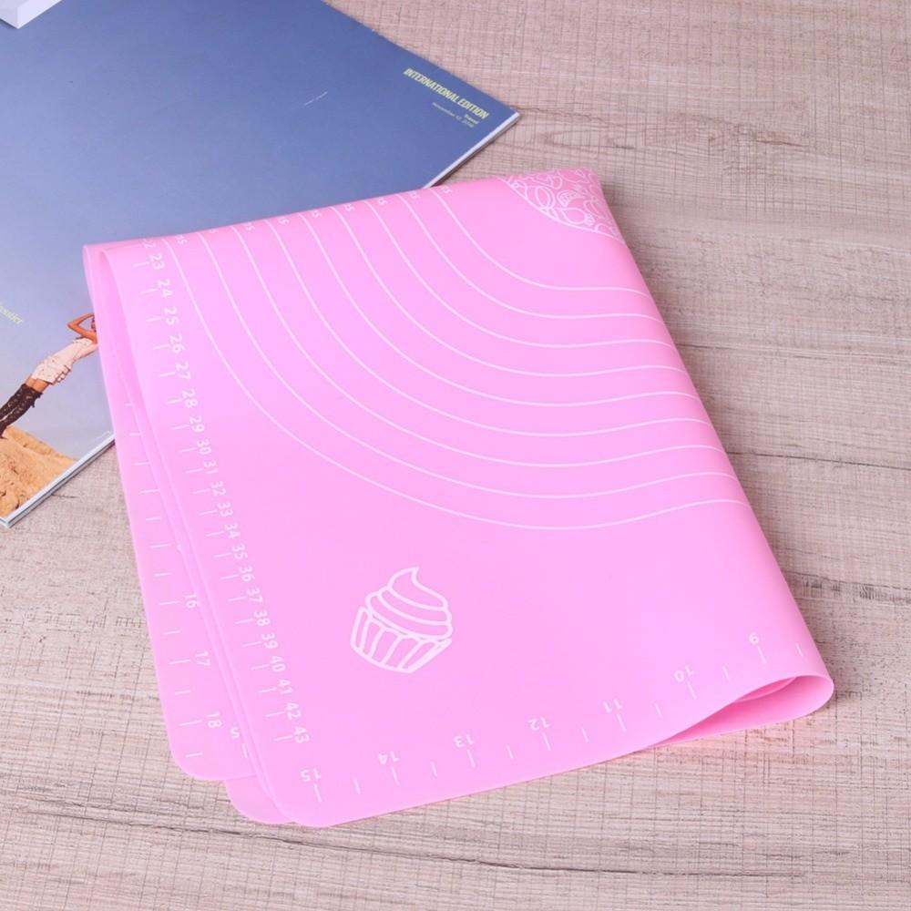 Силиконовый коврик для раскатывания теста, 65х45 см