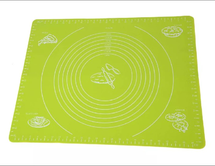 Силиконовый коврик для раскатывания теста, 50х40 см