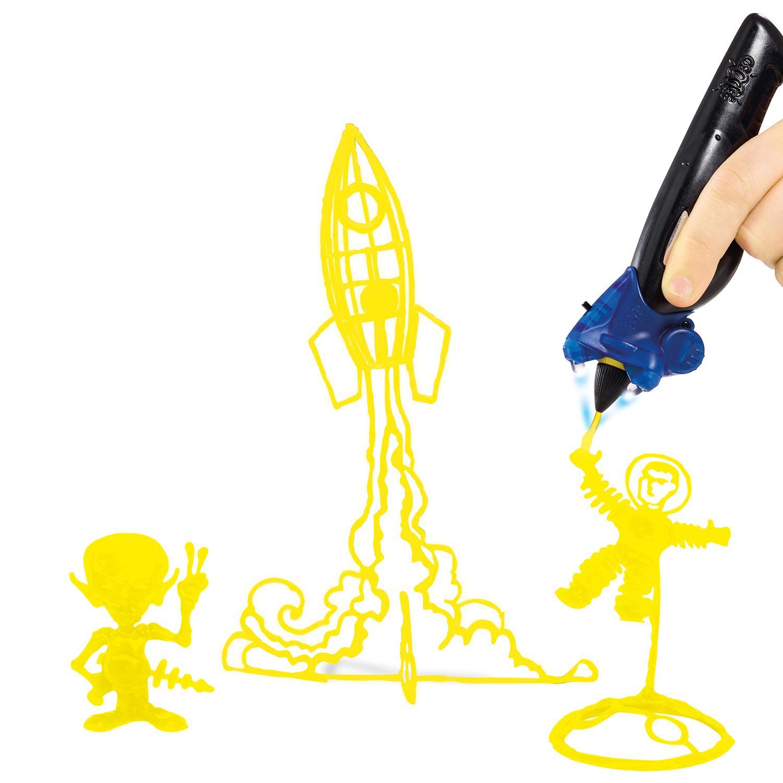 Набор для Рисования в 3D с Тремя 3D Ручками I do 3D Vertical