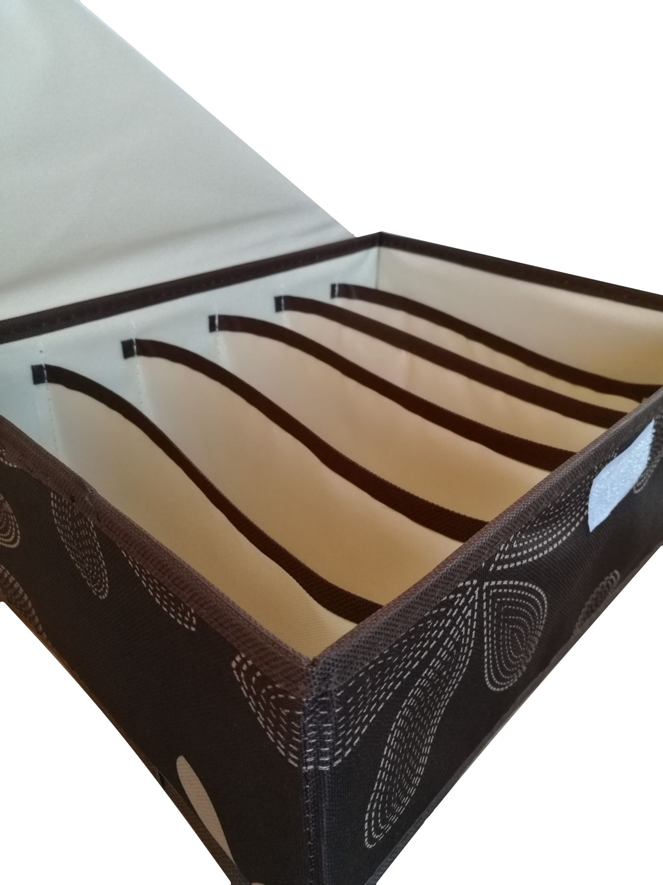 Короб для хранения вещей с 6-ю секциями, 31х24х12 см