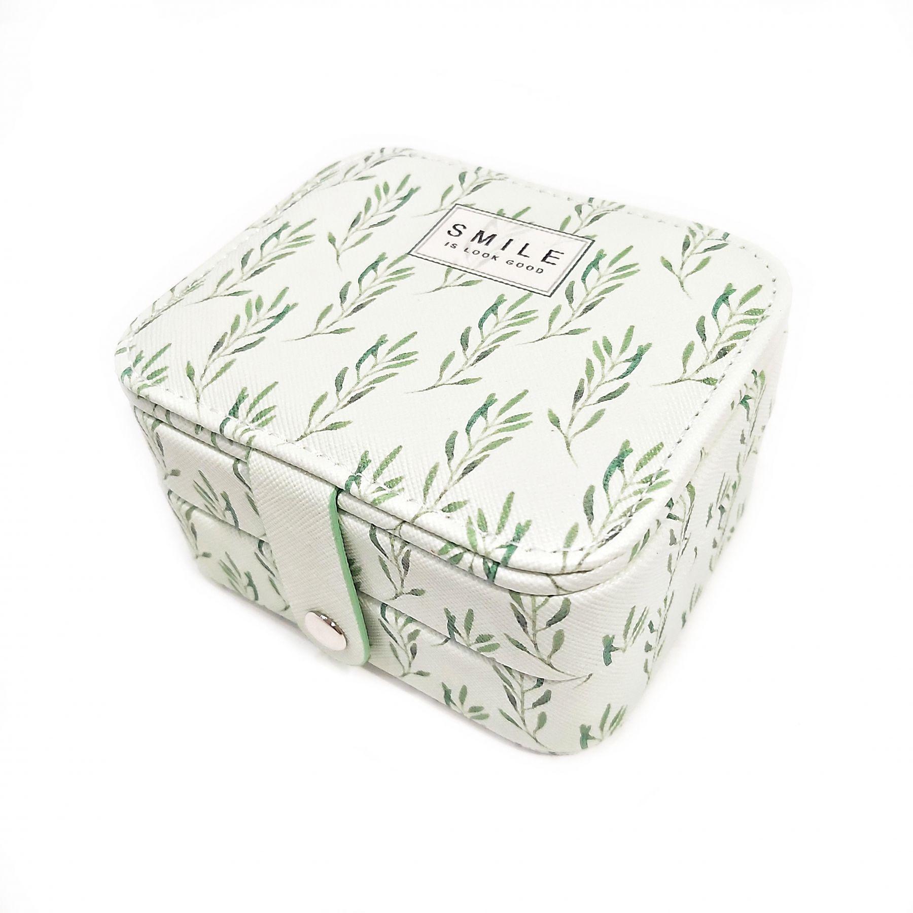 Компактная шкатулка для ювелирных изделий, 11х9х6 см