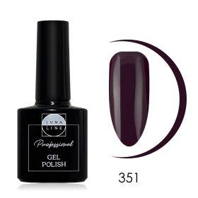 Гель-лак LunaLine 351 — пурпурно-фиолетовый