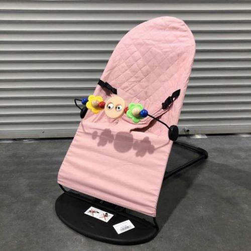 Шезлонг Babybalance розовый
