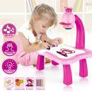 Детский проектор для рисования со столиком