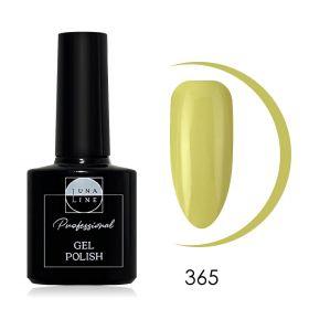 Гель-лак LunaLine 365 — кремово-желтый