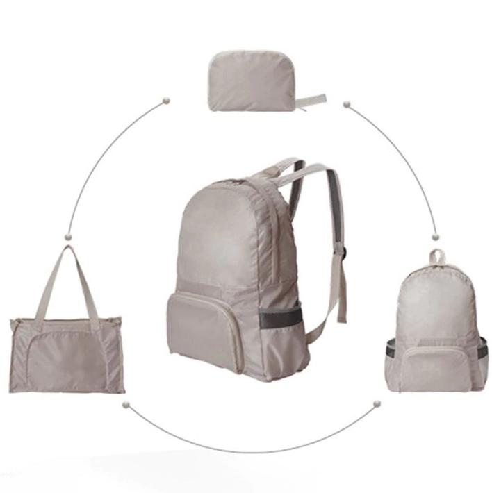 Водонепроницаемый складной рюкзак-трансформер 2 в 1 Magic Backpack