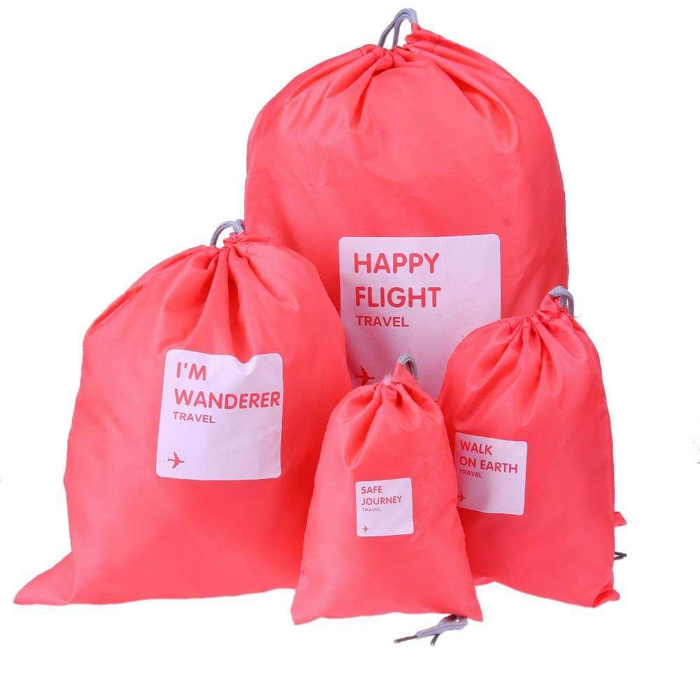 Водонепроницаемые мешочки для одежды Happy Flight Cplay, 4 шт