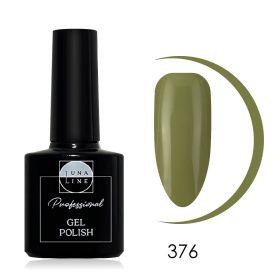 Гель-лак LunaLine 376 — бежевая оливка