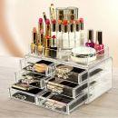Акриловый органайзер для косметики Cosmetic Storage Box - 6 ящиков