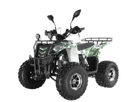 Детский квадроцикл бензиновый Wels Thunder Evo X