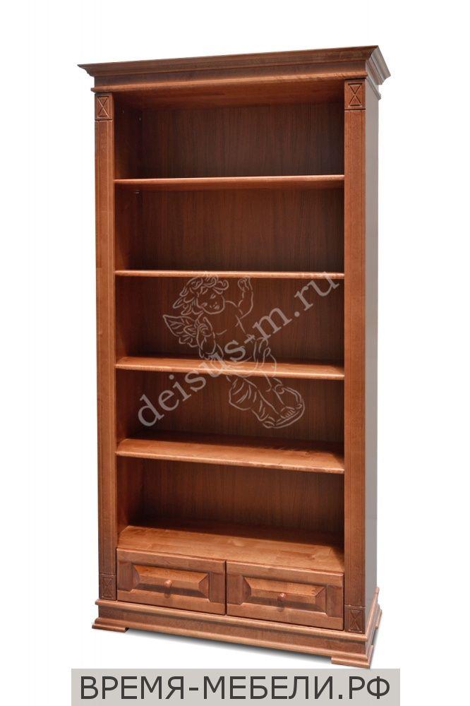 Шкаф-стеллаж книжный Верди-М
