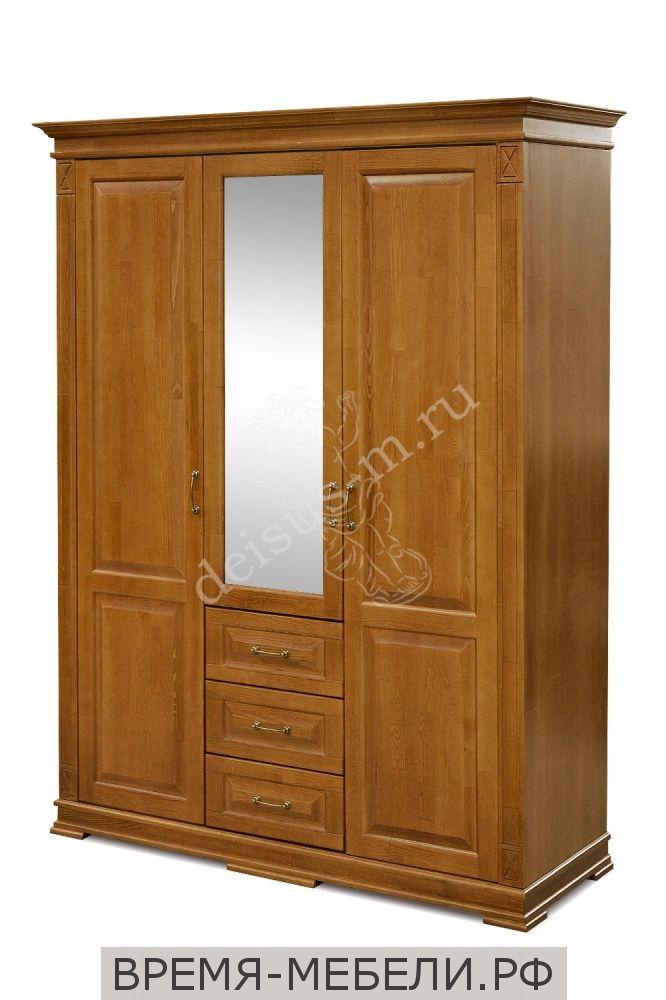 Шкаф трехстворчатый Верди-М 1