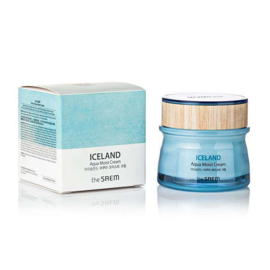 Крем для лица увлажняющий Iceland Aqua Moist Cream 60мл