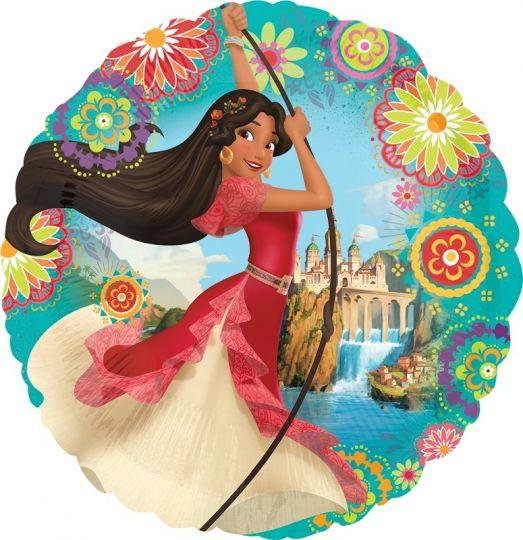 Елена из Авалора шар круглый фольгированный с гелием