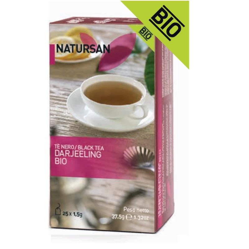 CF36 Чай черный Даржилинг БИО  (25х1,5 г)  37,5г, Te' nero Darjeeling BIO 37,5 g