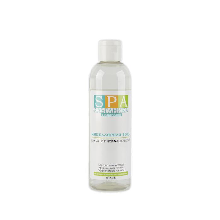 Мицеллярная вода для сухой и нормальной кожи АЛЬГАНИКА SPA 250 мл
