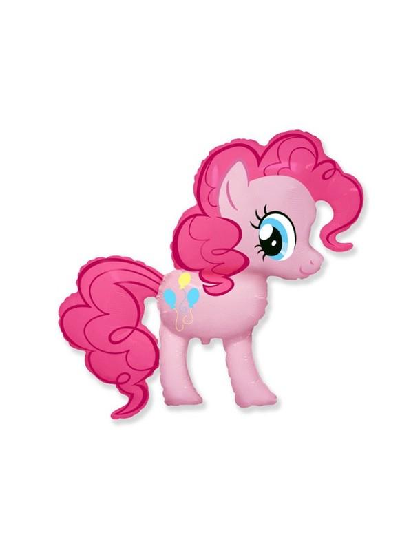 Пони Пинки Пай шар фигурный фольгированный с гелием