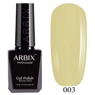 Гель лак  ARBIX № 03 Лимонный тоник