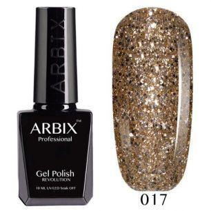 Гель лак  ARBIX № 17 Золотая Антилопа