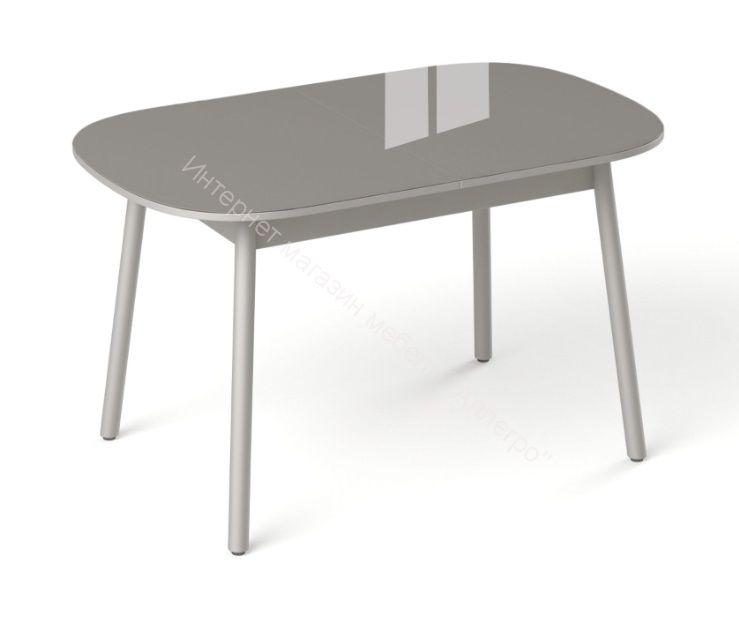 """Стол обеденный раздвижной """"Винтаж"""" №16 Тёмно-серый"""