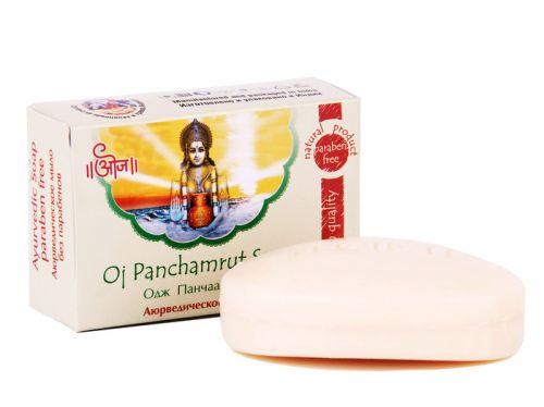 Мыло аюрведическое терапевтическое Одж Панчаамрита | 100 г | Oj Panchamrut Soap