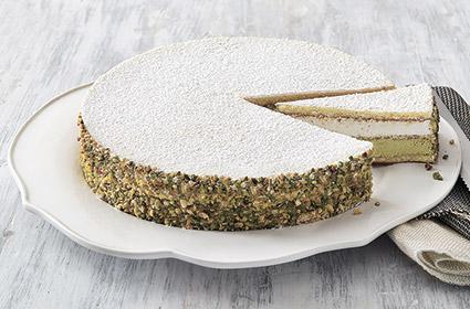 Торт Рикотта фисташковый 1,1 кг/12 порций, Италия