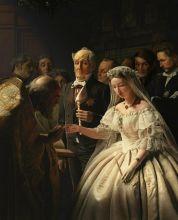 Неравный брак  ( Репродукция Василия Пукирева)