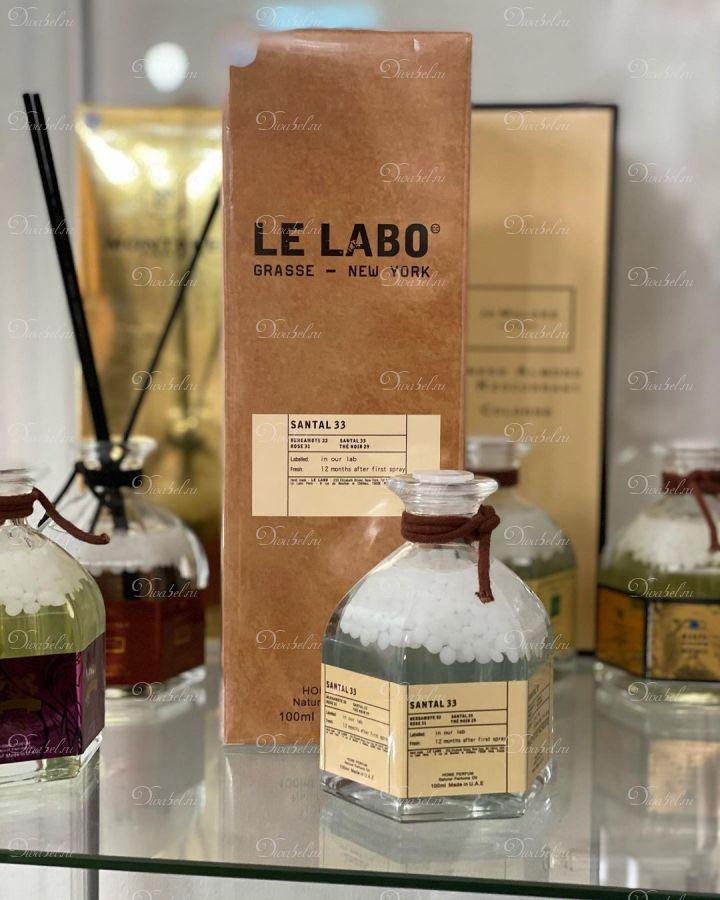 Аромадиффузор с палочками - Le Labo Santal 33