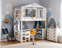Кровать-чердак Домик Roof №40Y
