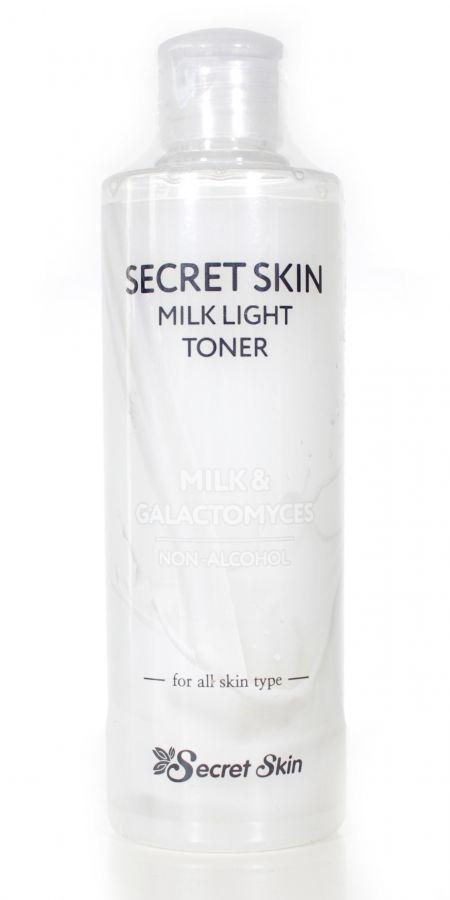 Тонер для лица с молочными протеинами NEW Secret Skin Milk Light Toner 250мл