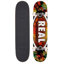 Комплект скейтборд REAL SKATEBOARDS CMPLT TROPIC OVALS II