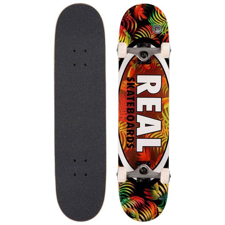 Комплект скейтборд REAL SKATEBOARDS CMPLT TROPIC OVALS II