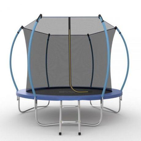 Батут с внутренней сеткой и лестницей Evo Jump Internal 8ft (Blue)