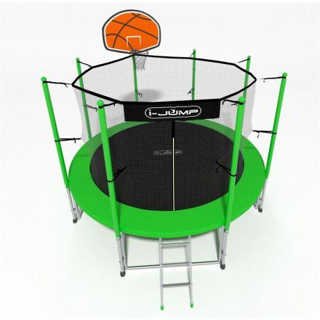 Батут i-Jump Basket 14ft green