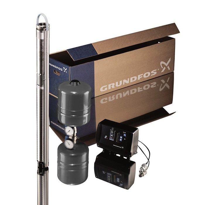 Grundfos Cons.pres.pac.SQE2-55+40m.3x1.5mm2 kabel