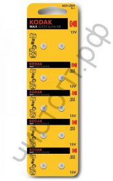 Kodak AG03 10BL LR41 (392) LR736