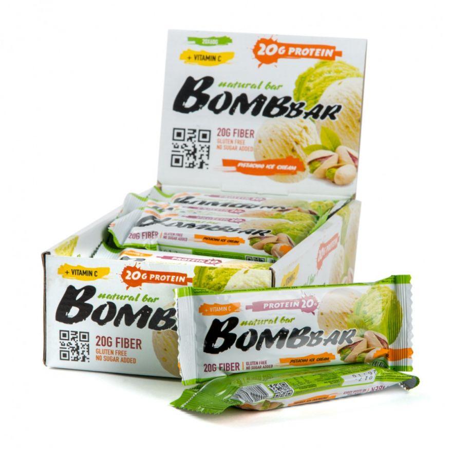 BOMBBAR протеиновый батончик  60гр