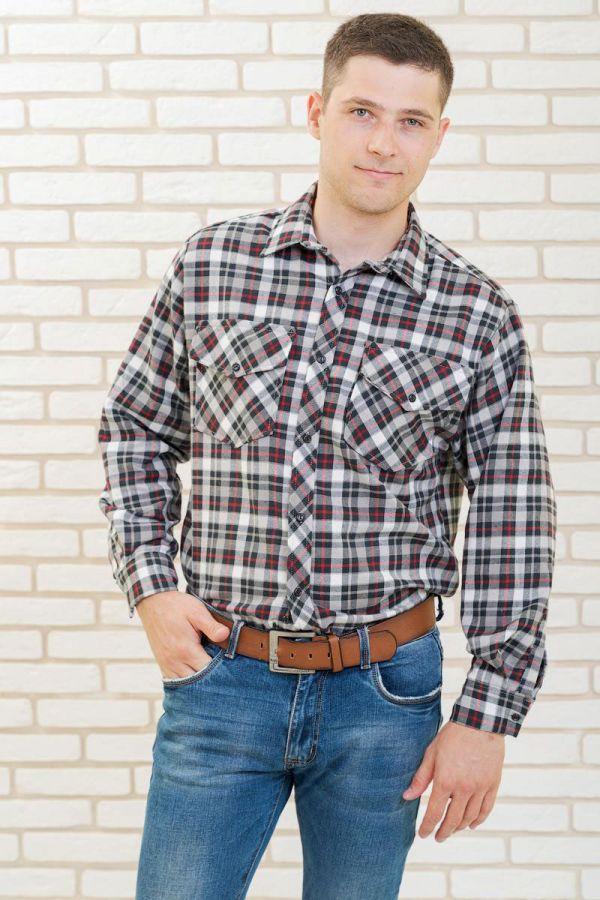 "Мужская рубашка ""Фуле"", дл.рукав"