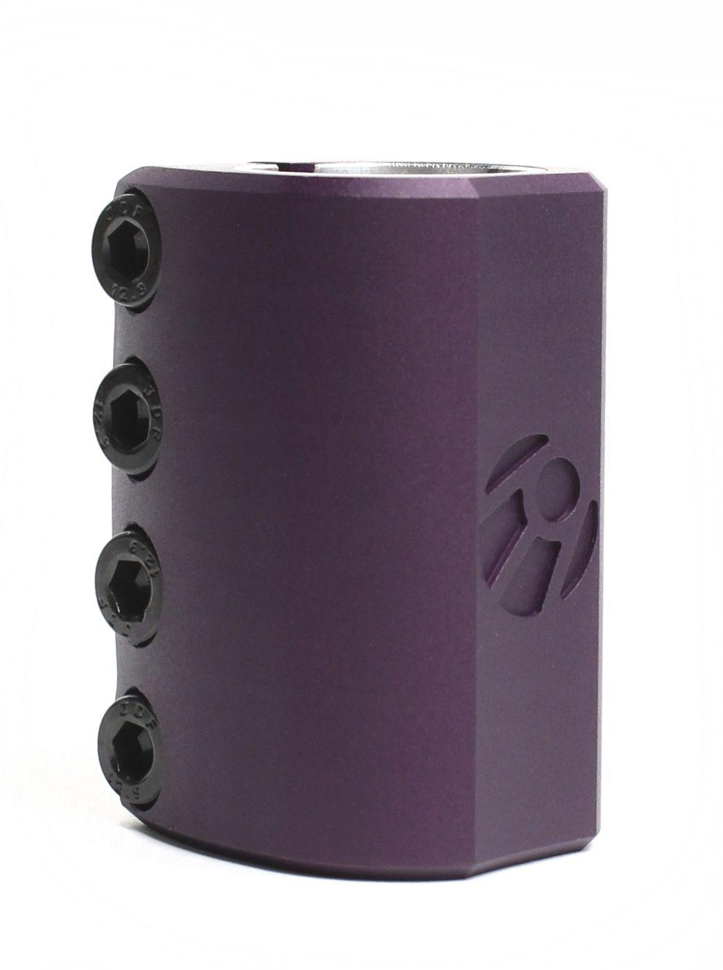 Зажим Спутник SCS фиолетовый