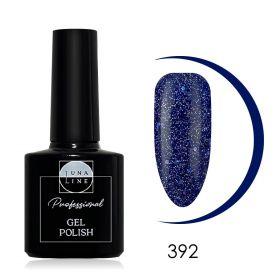 Гель-лак LunaLine 392 — синяя щепа