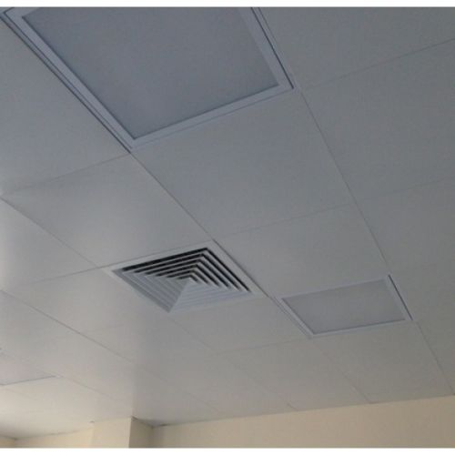 Кассетный потолок алюминиевый белый