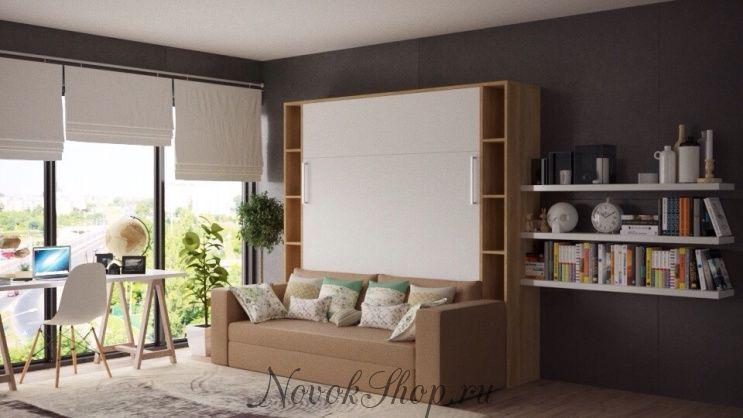 Шкаф-кровать-диван CAMELIA