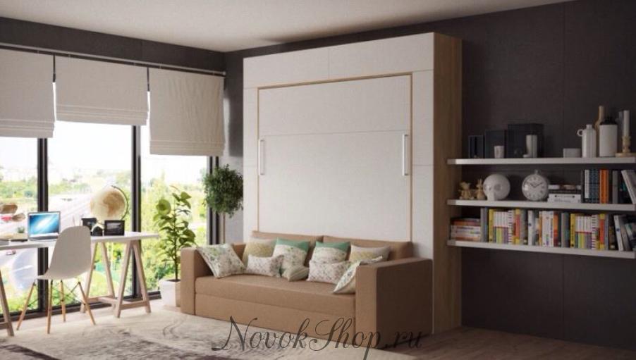 Шкаф-кровать-диван STEADY