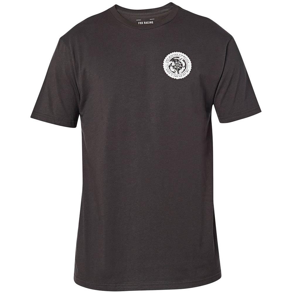 Fox Tread On SS Premium Tee Black Vintage футболка