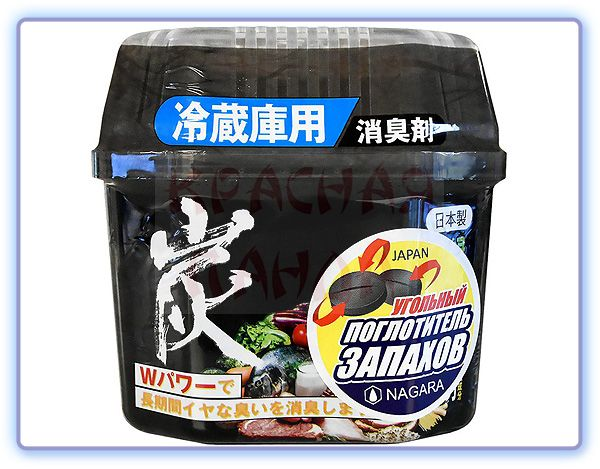 Nagara Древесный уголь для устранения запаха в холодильнике