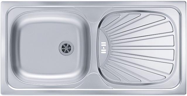 Врезная кухонная мойка ALVEUS Basic 80 86х43.5см 1008993 Декор