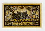 Германия нотгельд 25 пфеннингов 1921. UNC