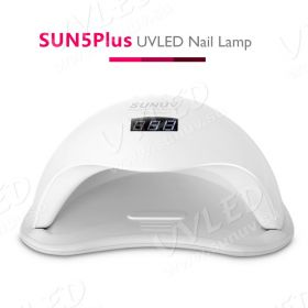 UV/LED лампа SUN 5 Plus, 24/48 Вт Белая(Премиум)