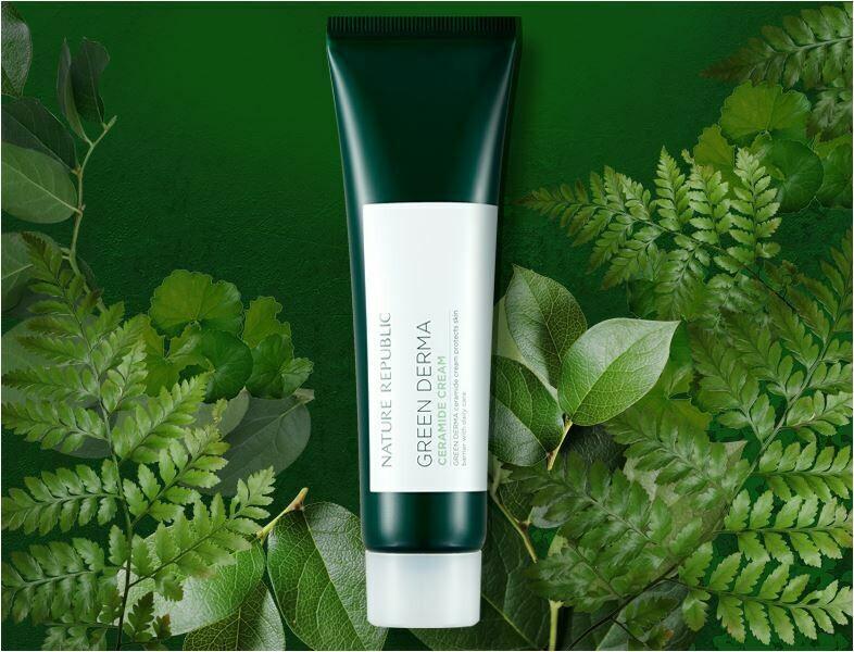 Крем для лица с керамидами Nature Republic | Green Derma Ceramide Cream 50мл